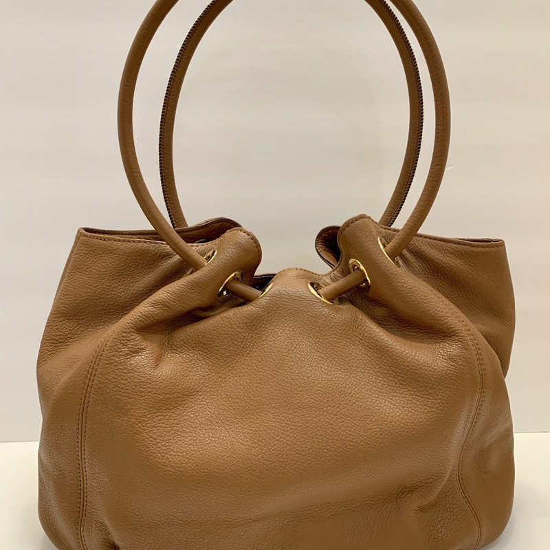Michael Kors Shoulder Bag<br /> Brown Leather