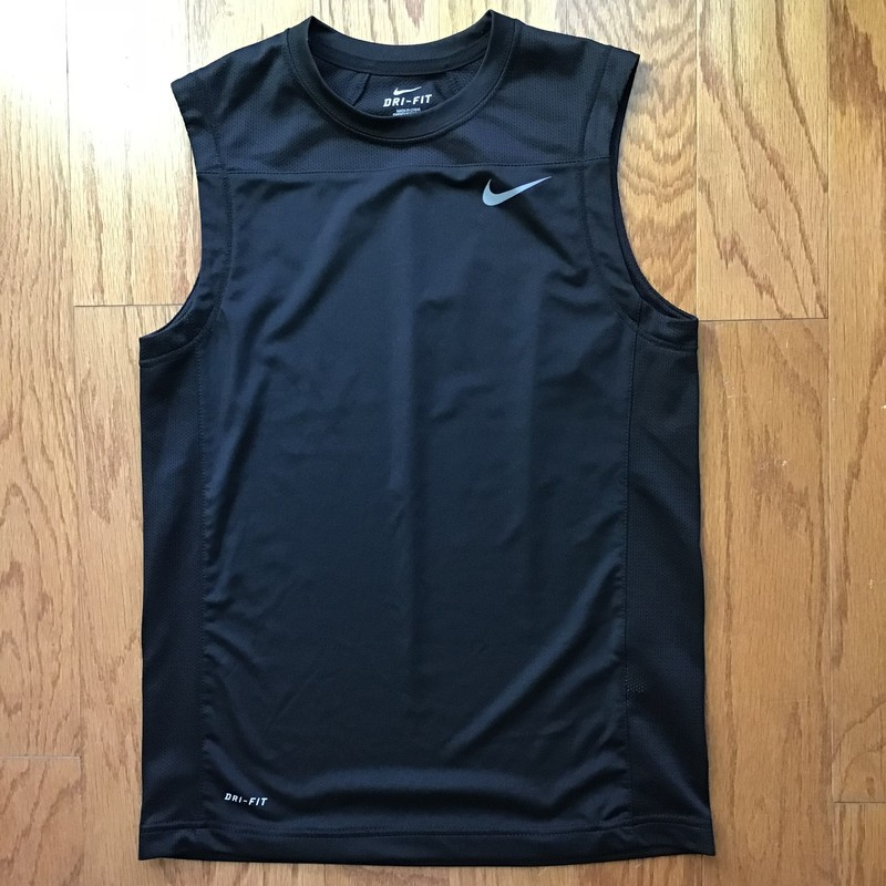 Nike Tank Top, Black, Size: Medium<br /> <br /> <br /> <br /> ALL ONLINE SALES ARE FINAL. NO RETURNS OR EXCHANGES.
