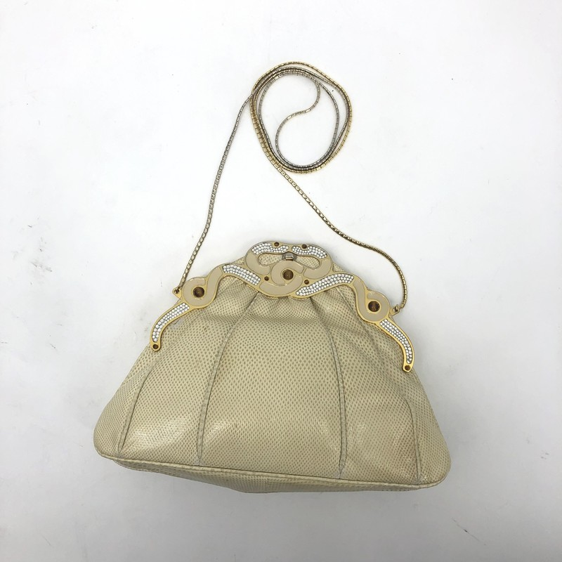 Finesse de Modal cream evening bag, vintage<br /> <br /> Measurements