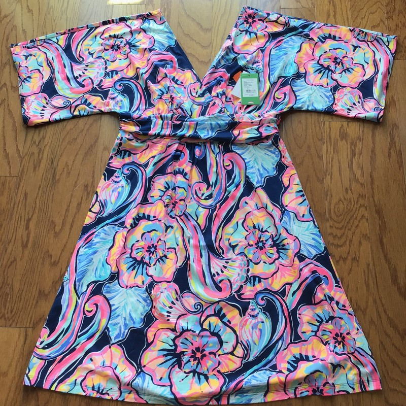 Lilly Pulitzer Dress NEW, Multi, Size: Large<br /> <br /> <br /> BRAND NEW WITH $178 TAG!<br /> <br /> <br /> WOMENS SIZE<br /> <br /> <br /> ALL ONLINE SALES ARE FINAL. NO RETURNS OR EXCHANGES.