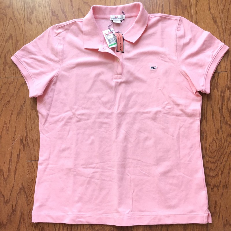 Vineyard Vines Shirt NEW, Pink, Size: Large<br /> <br /> <br /> WOMENS SIZE<br /> <br /> BRAND NEW WITH TAG<br /> <br /> <br /> ALL ONLINE SALES ARE FINAL. NO RETURNS OR EXCHANGES.