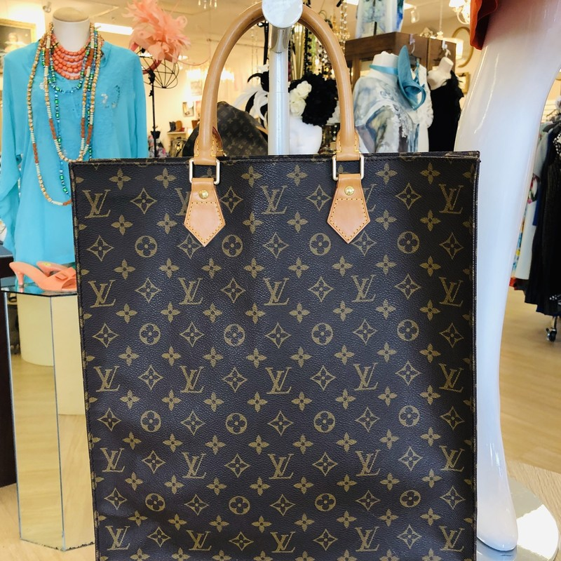 Louis Vuitton Sac Plat tote