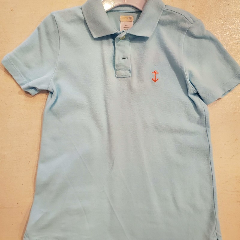 Crewcuts Polo, Light Blue, Size: 4-5