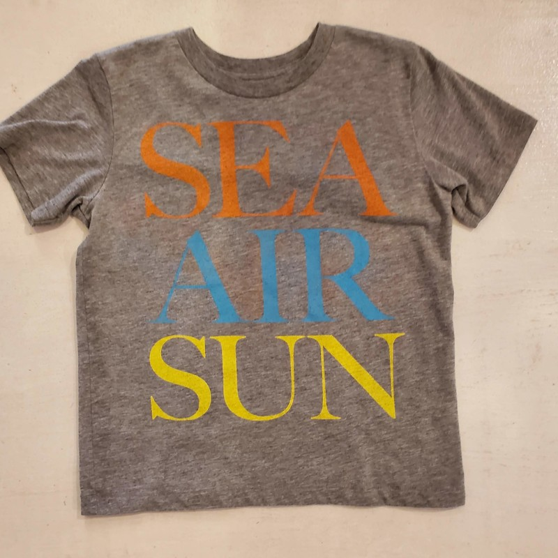 Peek short sleeve tee, Jacques Cousteau, Grey,<br /> Size: 4-5