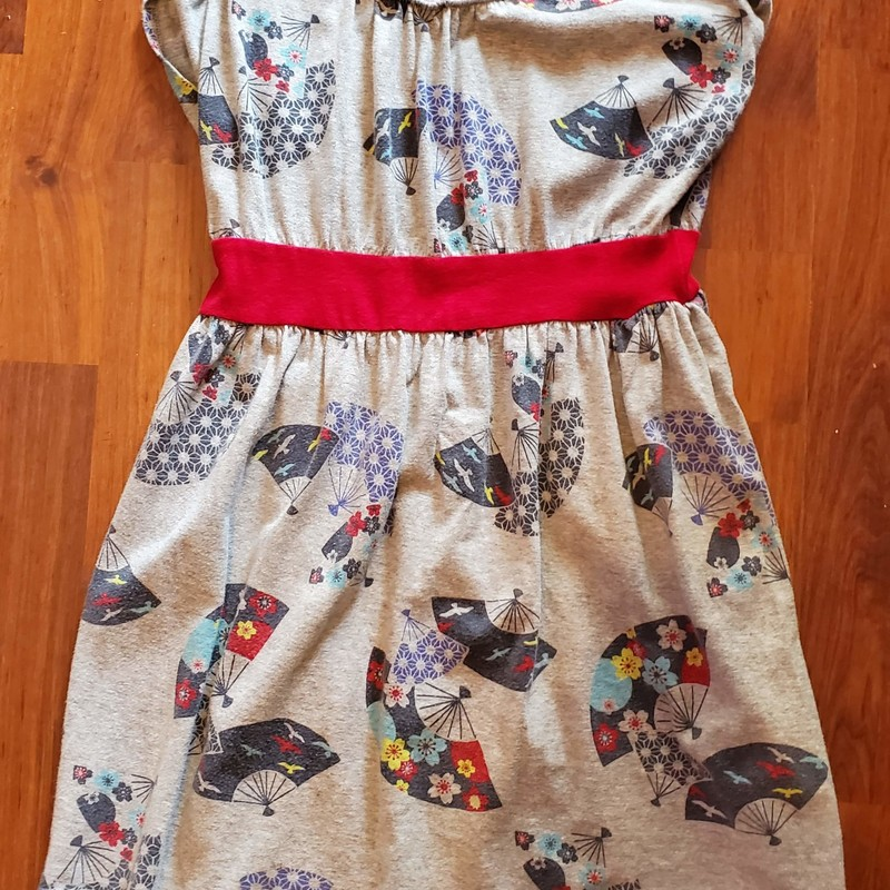 Tea Collection Fan Dress, Size: 7