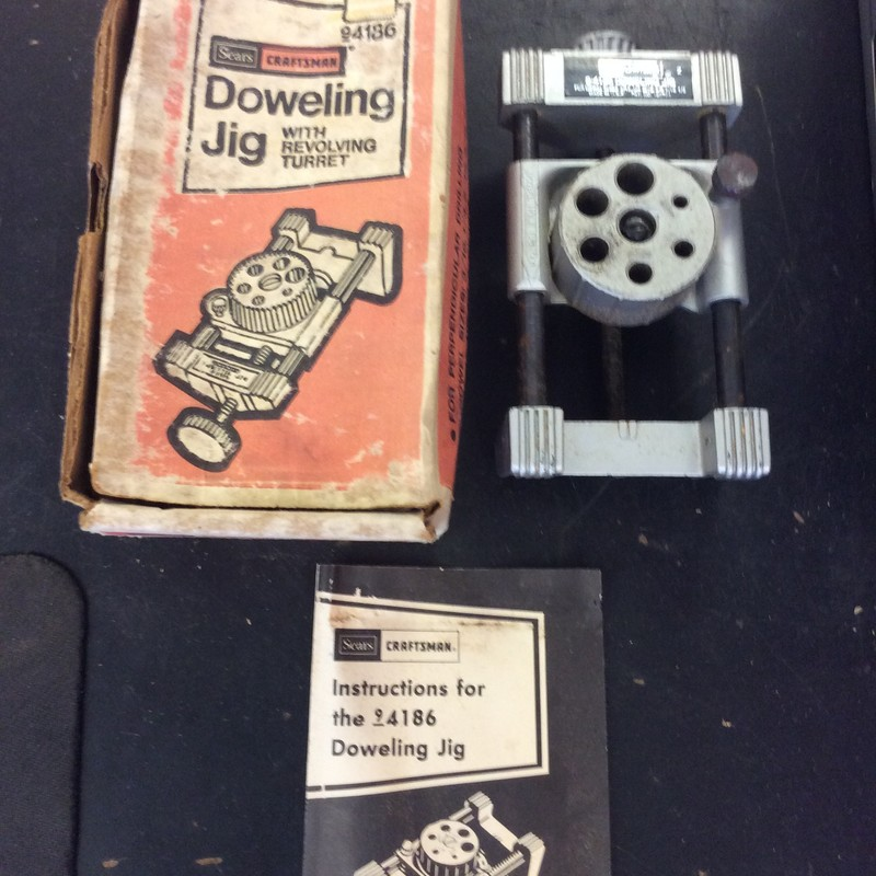 Craftsman 4186 Doweling Jig with Revolving Turret
