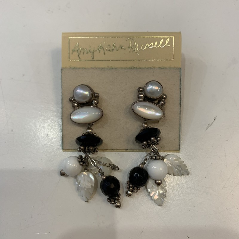 Gorgeous drop earrings from Amy Kahn Russell, never worn before. Retails for $65.