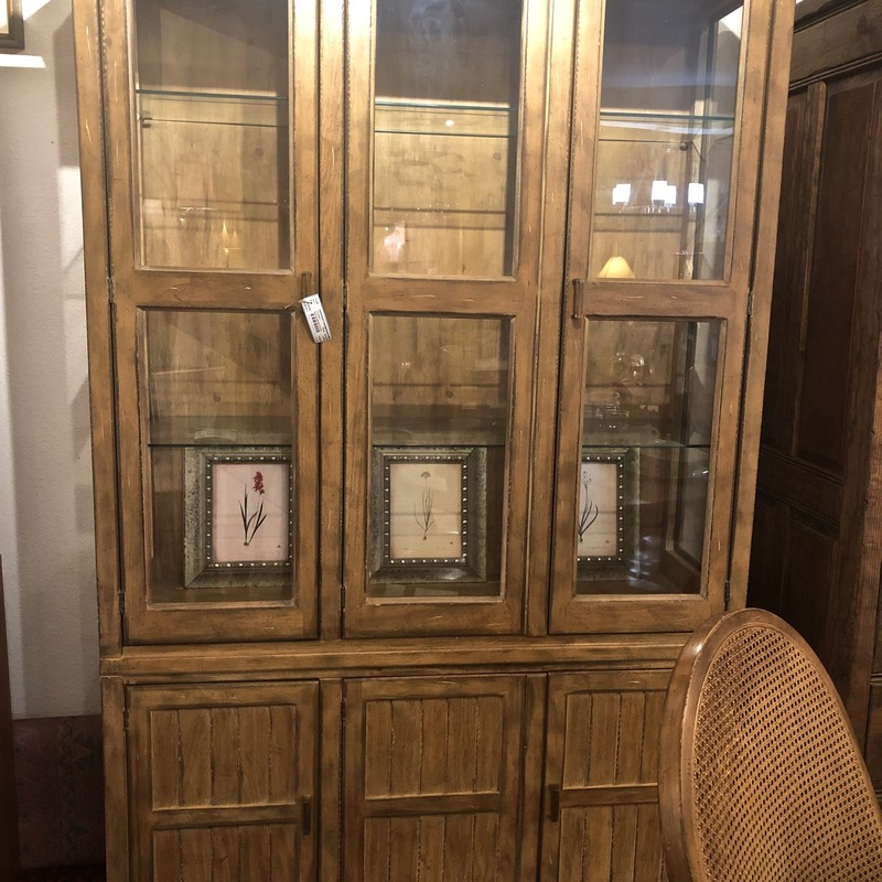 Hutch/Cabinet/ Drexel, Wood, Size: 46x16x80<br /> Matching Table and Chairs #74169  $399.00