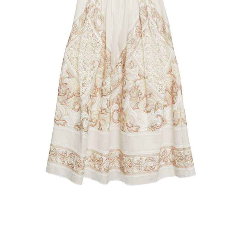 BCBG NWT Floral Embroidered Skirt, size small orig. rtl: $328