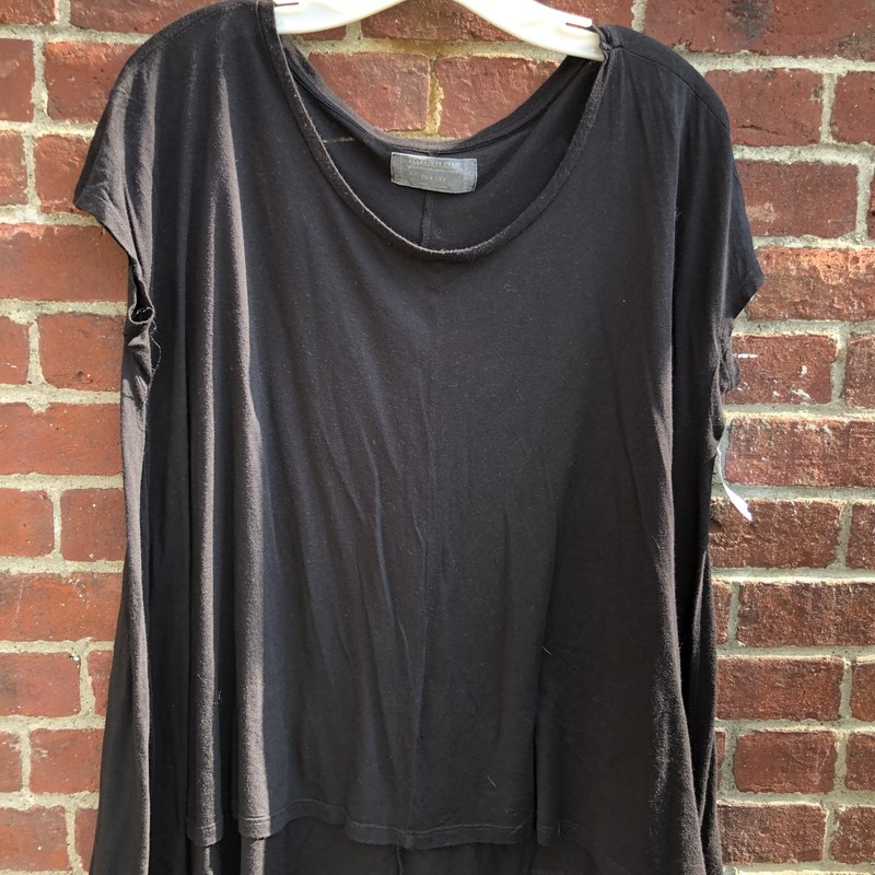 All Saints Tee, Black, Size: 4