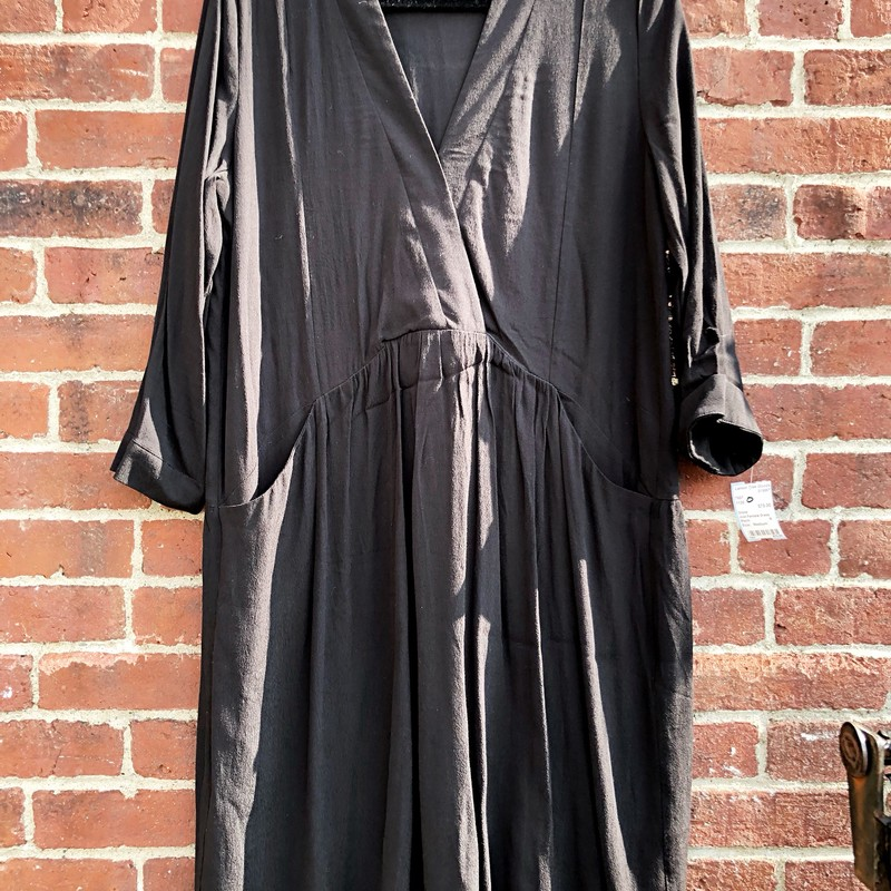 Just Female Dress, Black, Size: Medium<br /> excellent condition and cool style