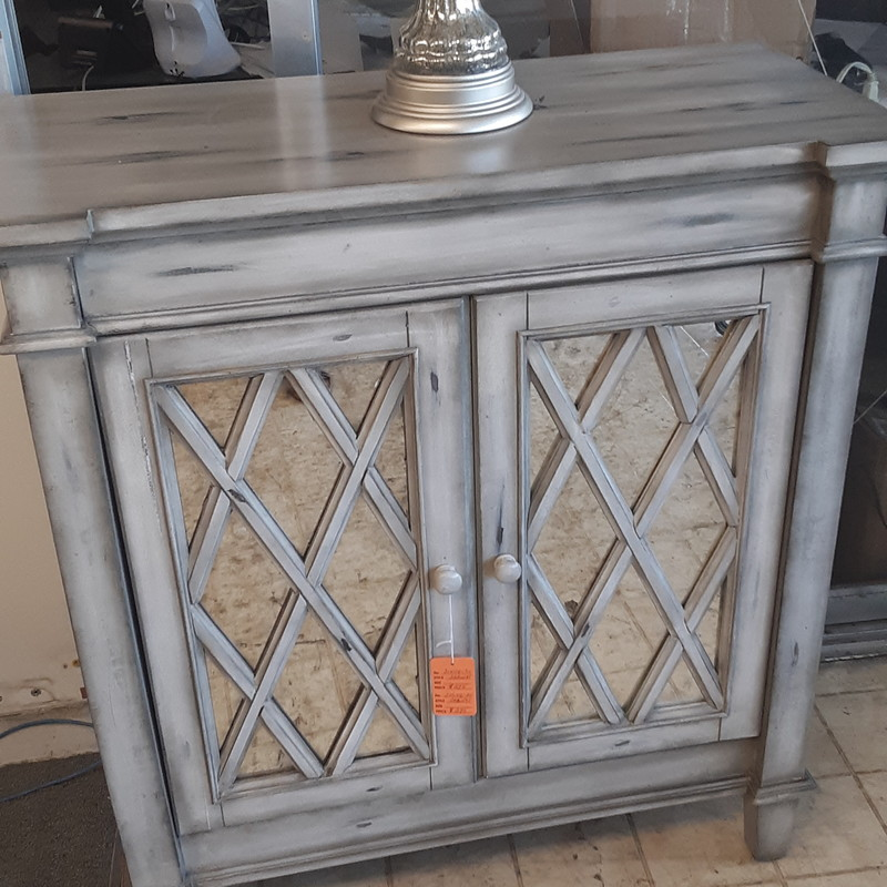SMALL CABINET, LT GRAY, Size: None
