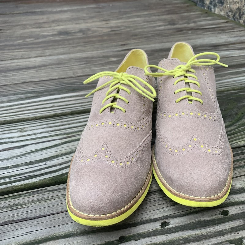Cole Haan Alisa Oxford, Tan, Size: 9<br /> Like new, official color is Light Cove/chic