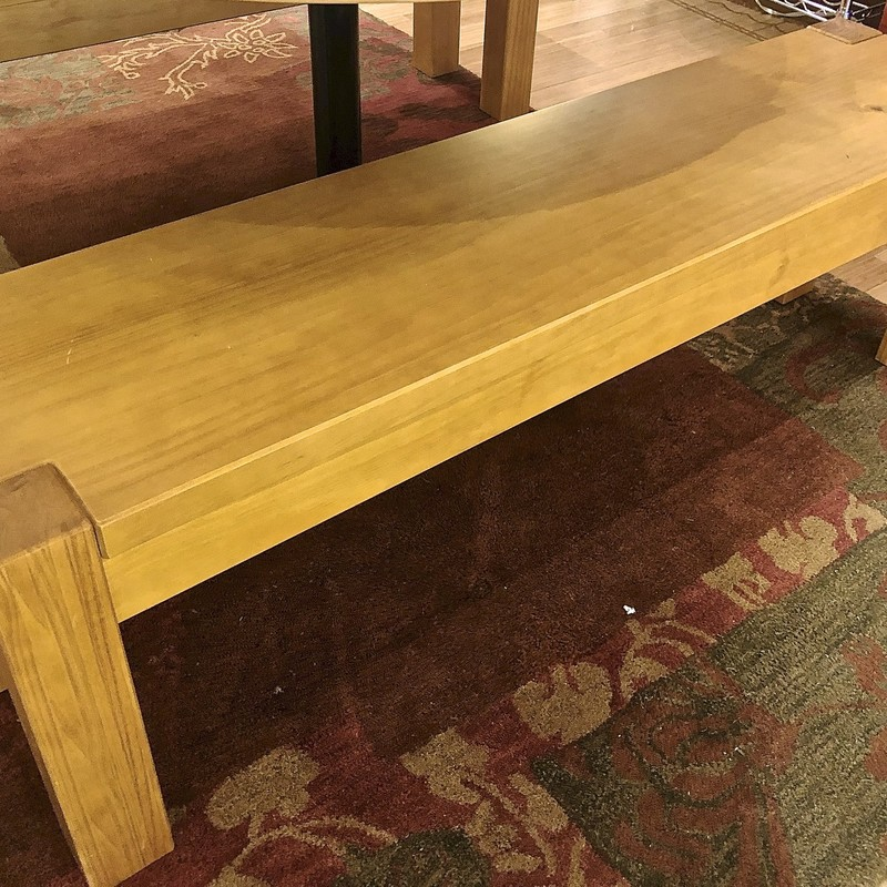 Bench by Artefama, Wood, Size: 54x14x18<br /> Two available (Item# 75860)