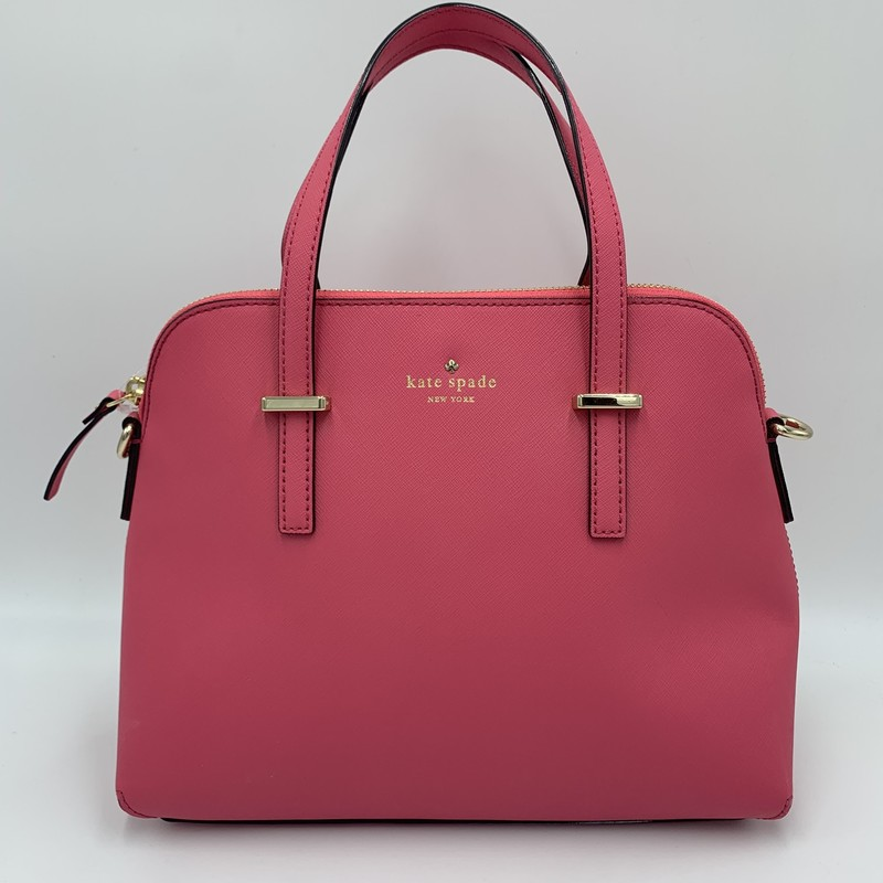 "Kate Spade CedarSt Maise, Pink, Size: M<br /> <br /> condition: EXCELLENT<br /> <br /> 12""W  x 4.5""D  x 9.5""H<br /> Original Retail: $298<br /> ** Crossbody strap NOT included **"