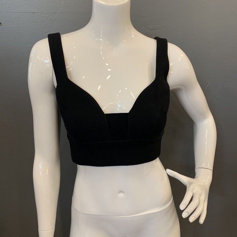 ALC Morley Bustier, Black, Size: 2<br /> <br /> 89% Cotton, 11% Nylon<br /> lining: 97% Viscose, 3% Elastane<br /> <br /> New With Tags<br /> Original Retail: $286