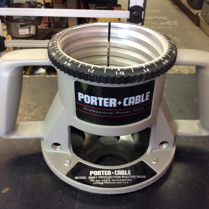 Porter Cable 75361 Fixed Router Base<br /> <br /> *MADE IN USA*