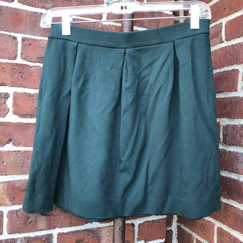 Madewell Skirt, Forest Green, Size: 4