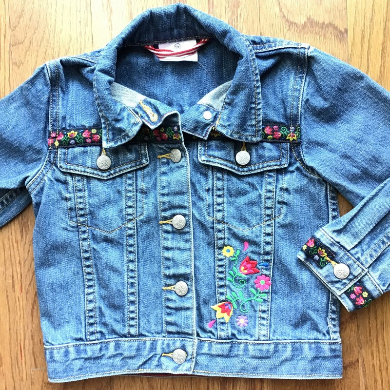 Hanna Andersson Jacket, Denim, Size: 4<br /> <br /> <br /> ALL ONLINE SALES ARE FINAL. NO RETURNS OR EXCHANGES.