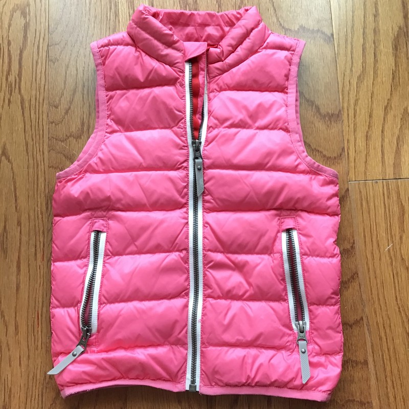 Hanna Andersson Vest, Pink, Size: 4<br /> <br /> <br /> <br /> ALL SALES ARE FINAL. NO RETURNS OR EXCHANGES.