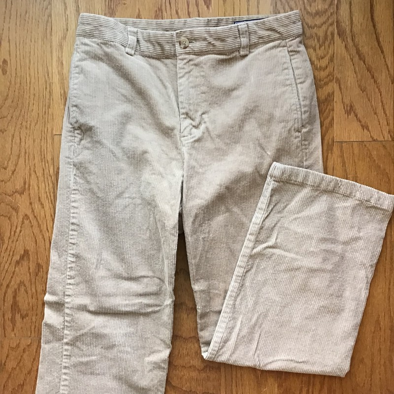 Vineyard Vines Pant, Tan, Size: 16<br /> <br /> <br /> ALL ONLINE SALES ARE FINAL. NO RETURNS OR EXCHANGES.