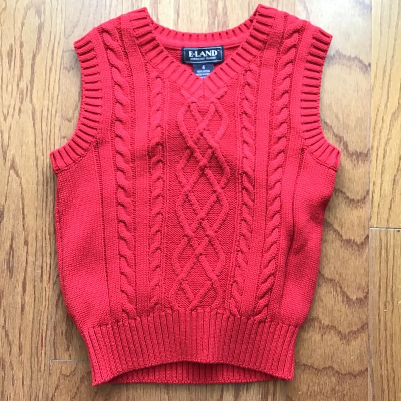 Eland Vest NEW, Red, Size: 4<br /> <br /> <br /> ALL ONLINE SALES ARE FINAL. NO RETURNS OR EXCHANGES.