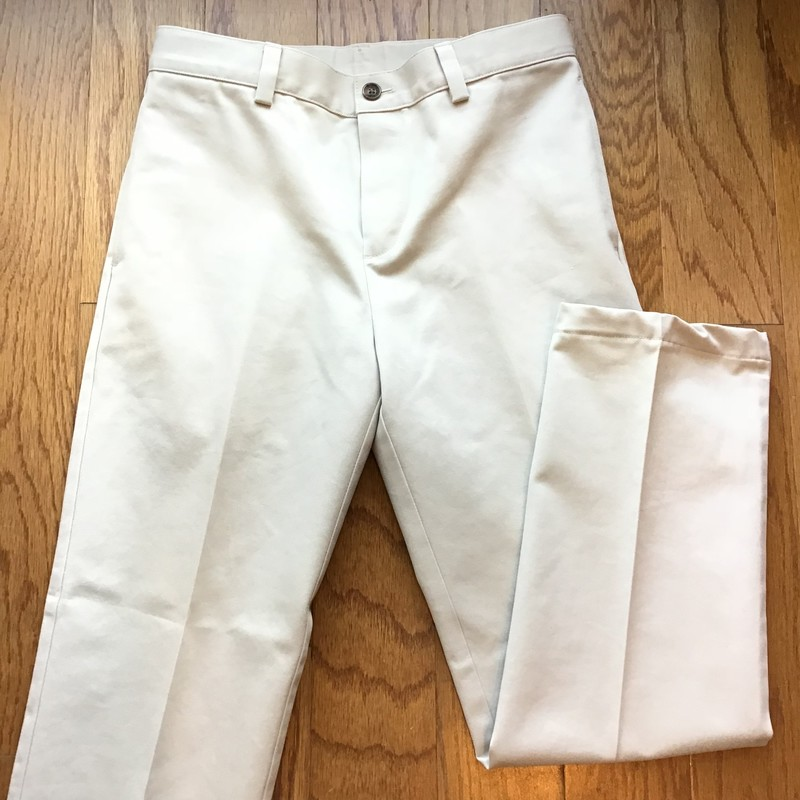 Brooks Brothers Pant, Khaki, Size: 12<br /> <br /> <br /> <br /> ALL ONLINE SALES ARE FINAL. NO RETURNS OR EXCHANGES.