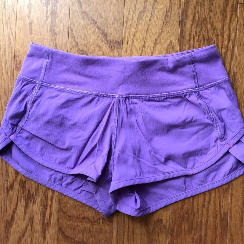 Ivivva Short AS IS, Purple, Size: 10<br /> <br /> <br /> AS IS DUE TO ONE SMALL SPOT<br /> <br /> <br /> ALL ONLINE SALES ARE FINAL. NO RETURNS OR EXCHANGES.