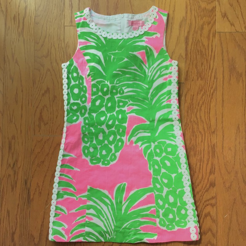 Lilly Pulitzer Dress, Green, Size: 10<br /> <br /> ALL ONLINE SALES ARE FINAL. NO RETURNS OR EXCHANGES.