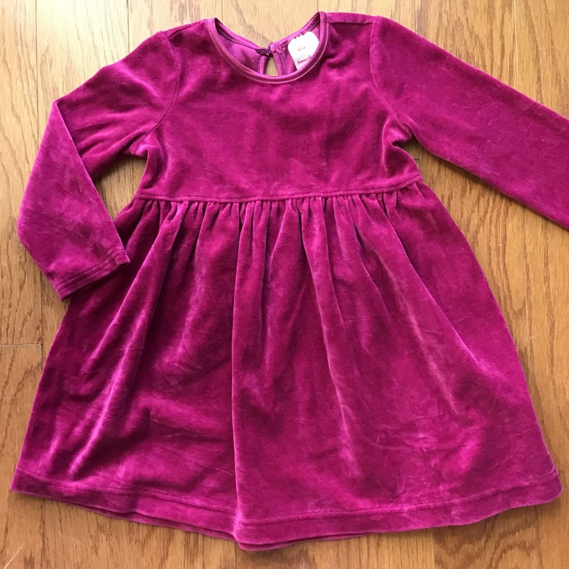 Hanna Andersson Dress, Magenta, Size: 2<br /> <br /> <br /> ALL ONLINE SALES ARE FINAL. NO RETURNS OR EXCHANGES.