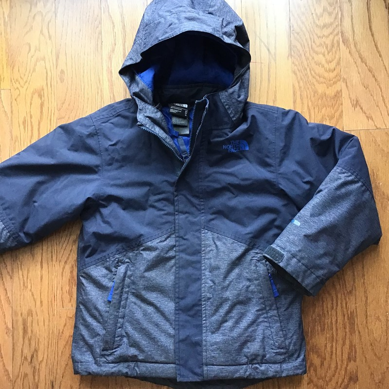 North Face 3 In 1 Coat, Navy, Size: 6<br /> <br /> <br /> ALL ONLINE SALES ARE FINAL. NO RETURNS OR EXCHANGES.