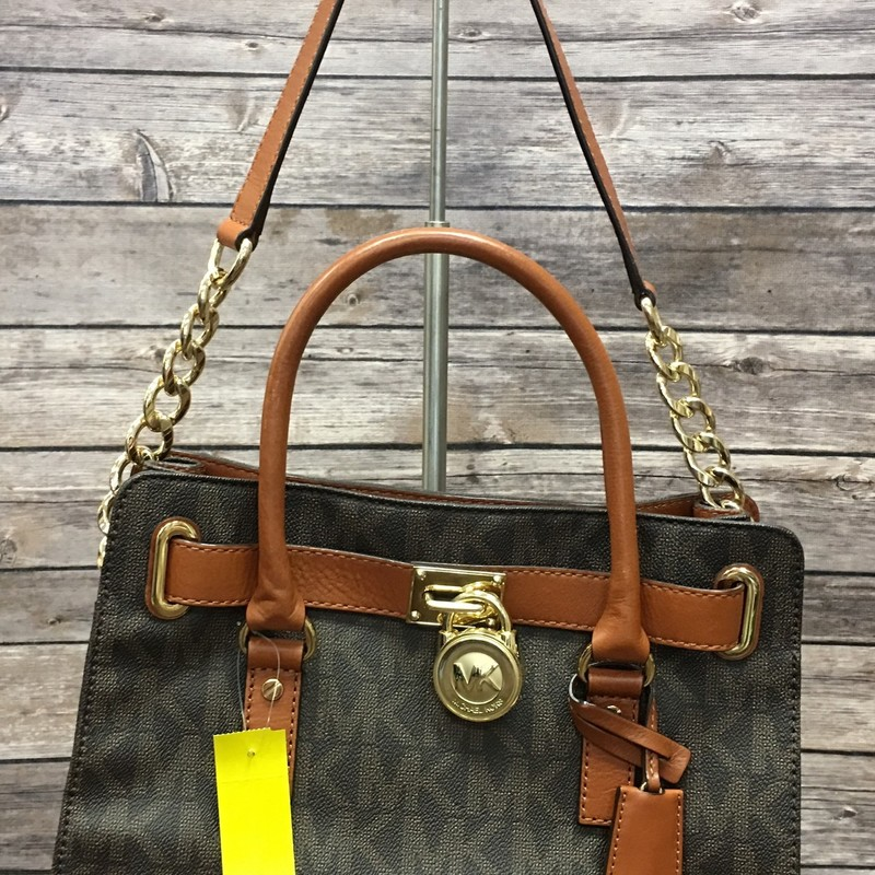 Michael Kors Purse, Brown, Size: None. See Other Listing for Matching Wallet!
