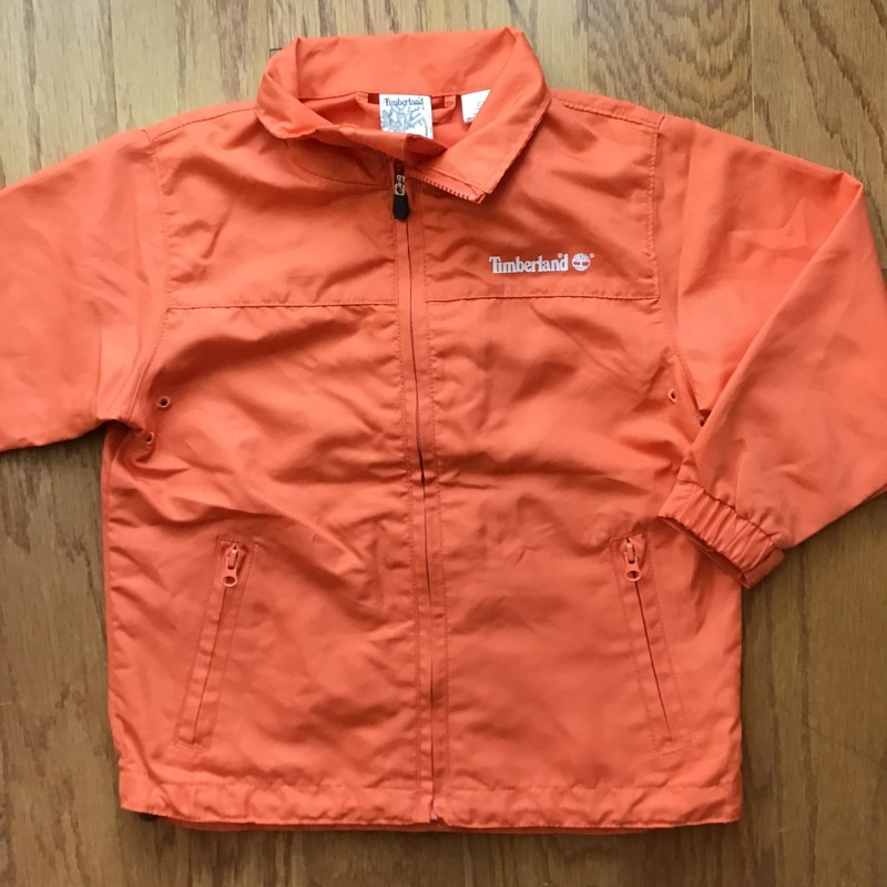 Timberland Jacket, Orange, Size: 3<br /> <br /> <br /> ALL ONLINE SALES ARE FINAL. NO RETURNS OR EXCHANGES.