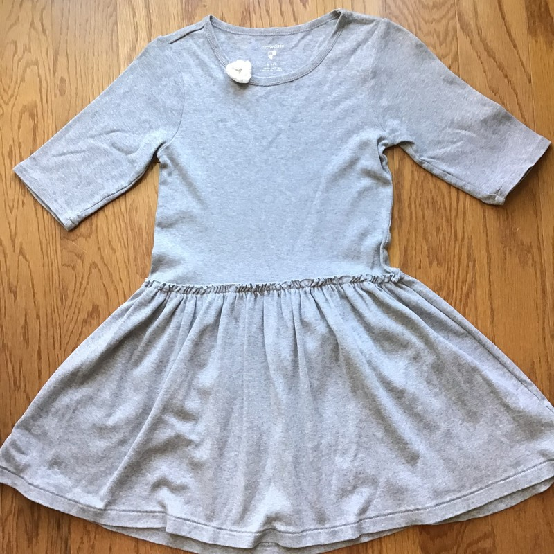 Crewcuts Dress, Gray, Size: 8-9<br /> <br /> <br /> ALL ONLINE SALES ARE FINAL. NO RETURNS OR EXCHANGES.
