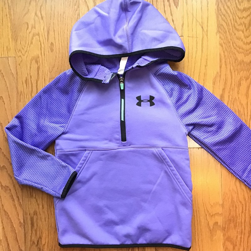 Under Armour Pullover, Purple, Size: Small<br /> <br /> <br /> ALL ONLINE SALES ARE FINAL. NO RETURNS OR EXCHANGES.