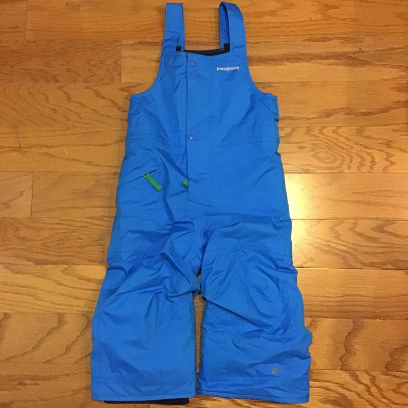 Patagonia Snow Bib, Blue, Size: 2<br /> <br /> <br /> ALL SALES ARE FINAL. NO RETURNS OR EXCHANGES.