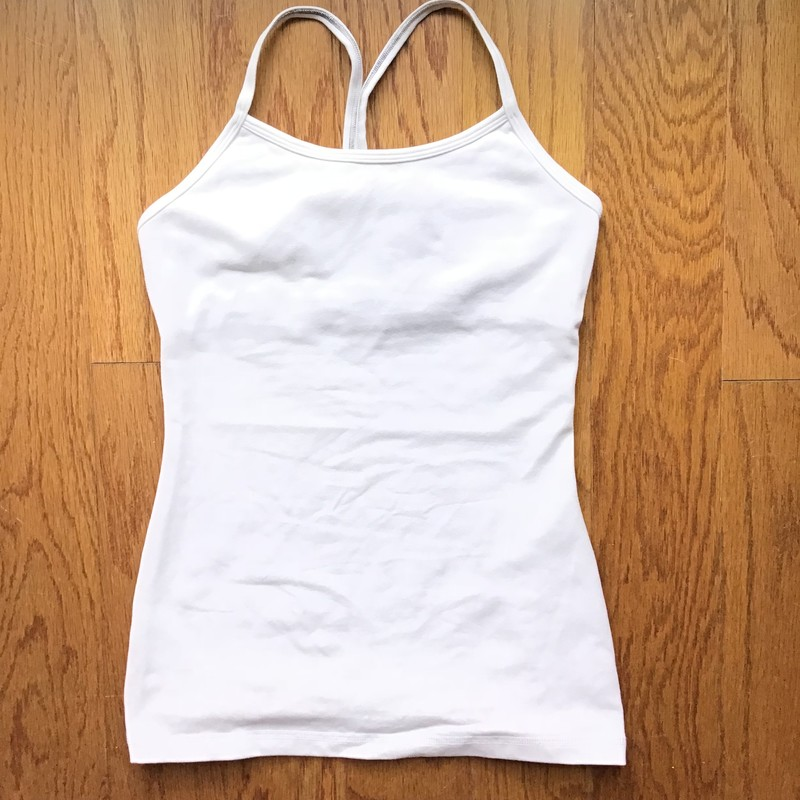 Ivivva Tank, White, Size: 12<br /> <br /> <br /> ALL ONLINE SALES ARE FINAL. NO RETURNS OR EXCHANGES.