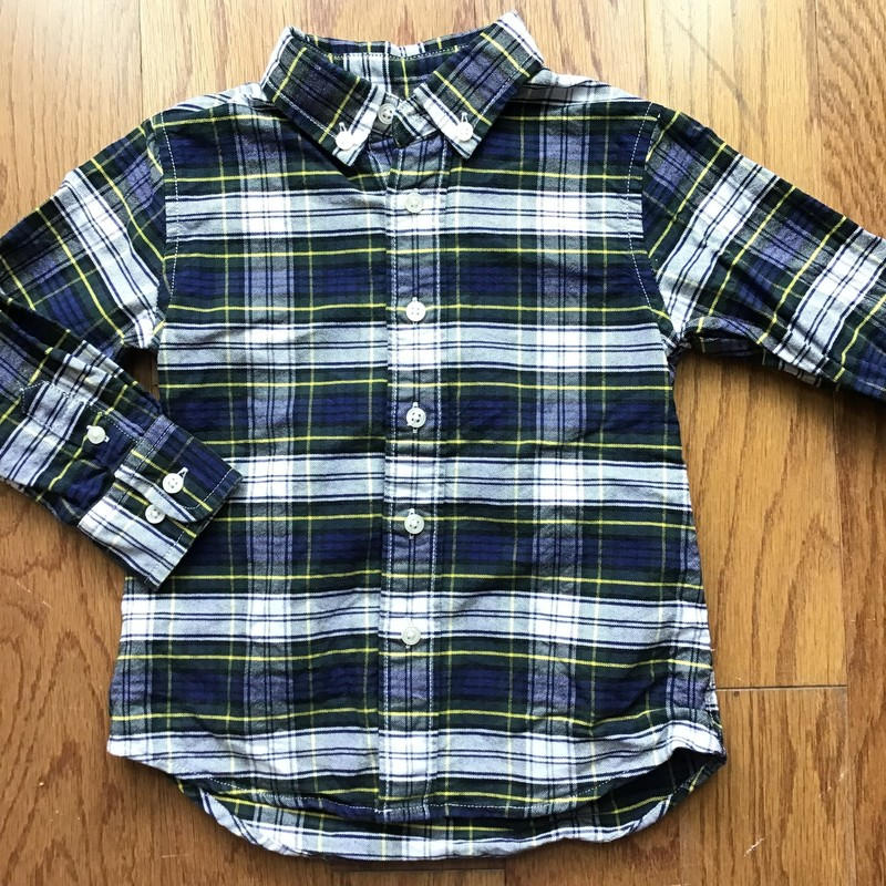 Crewcuts Shirt, Blue, Size: 2<br /> <br /> <br /> ALL SALES ARE FINAL. NO RETURNS OR EXCHANGES.