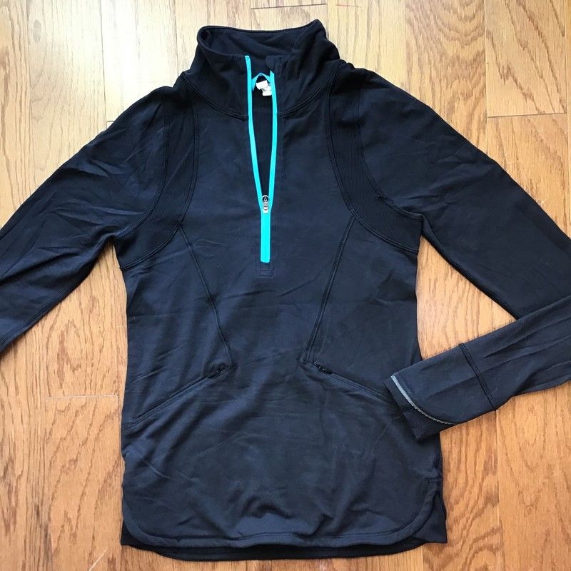 Ivivva Pullover, Black, Size: 12<br /> <br /> <br /> ALL ONLINE SALES ARE FINAL. NO RETURNS OR EXCHANGES.