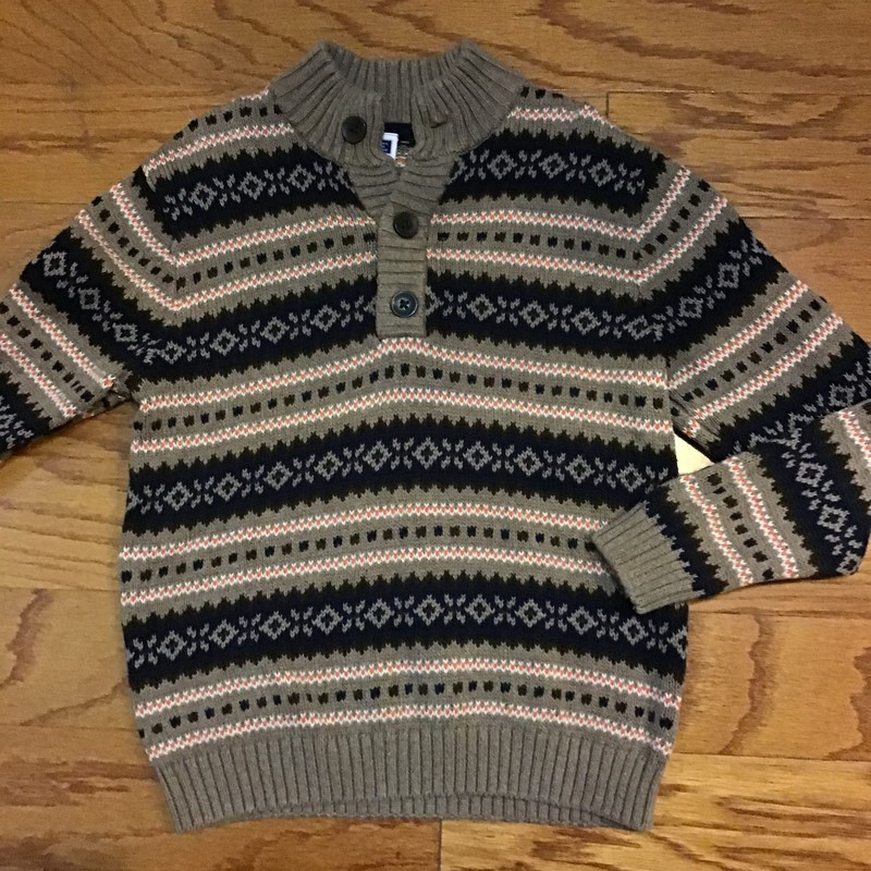 Janie Jack Sweater, Brown, Size: 6<br /> <br /> <br /> ALL ONLINE SALES ARE FINAL. NO RETURNS OR EXCHANGES.