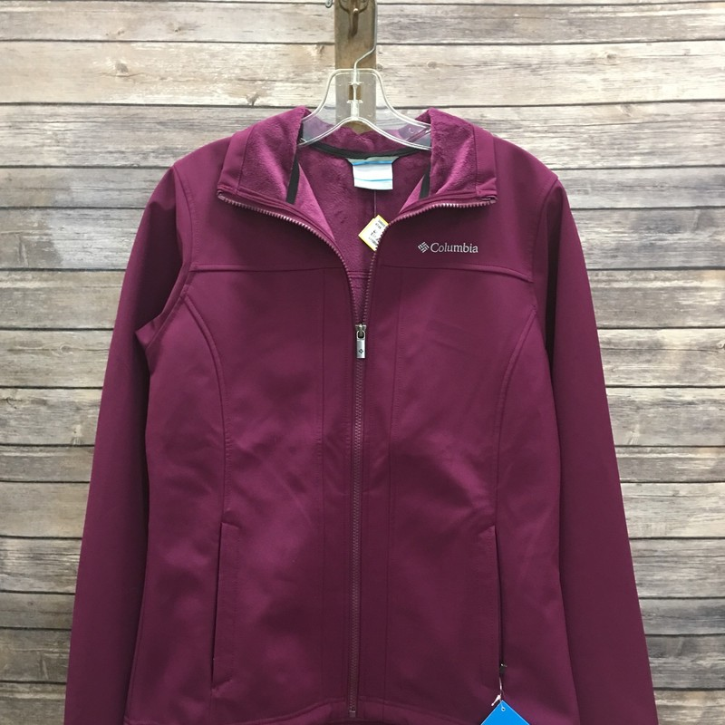 New Columbia Jacket, Purple, Size: Small
