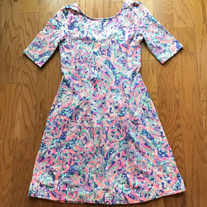 Lilly Pulitzer Dress, Multi, Size: Small<br /> <br /> Womens size. Slight fade<br /> <br /> <br /> ALL ONLINE SALES ARE FINAL. NO RETURNS OR EXCHANGES.