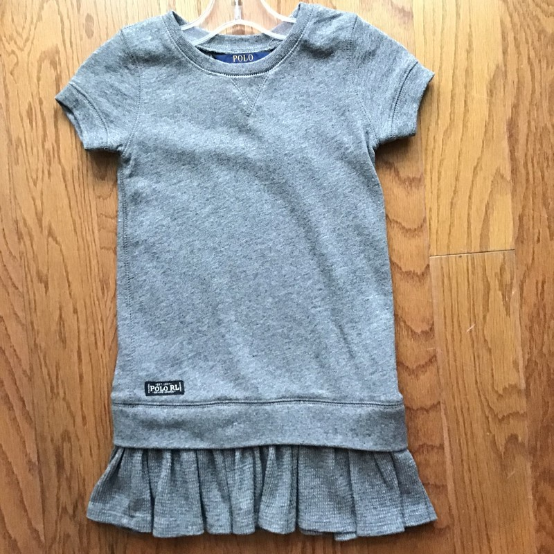 Polo RL Dress, Gray, Size: 5<br /> <br /> <br /> ALL ONLINE SALES ARE FINAL. NO RETURNS OR EXCHANGES.