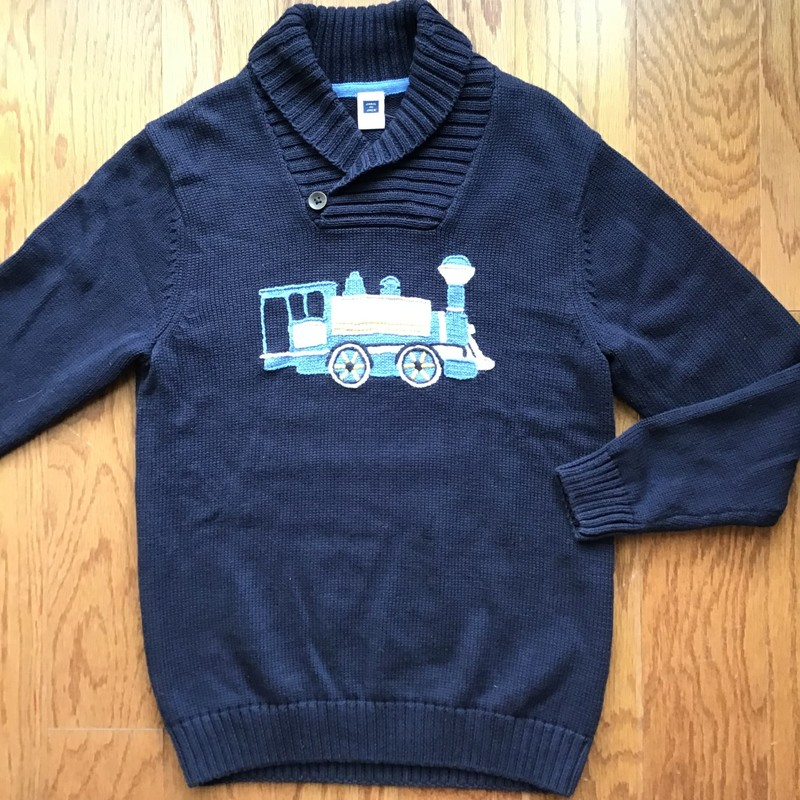 Janie Jack Sweater, Navy, Size: 7<br /> <br /> <br /> ALL ONLINE SALES ARE FINAL. NO RETURNS OR EXCHANGES.