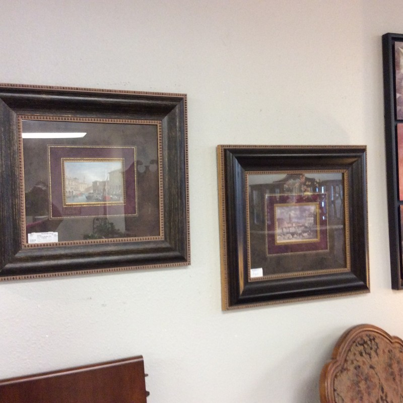 Both of these lithographs are lovely. They are beautifully framed, as well. Stop by and see them for yourself!