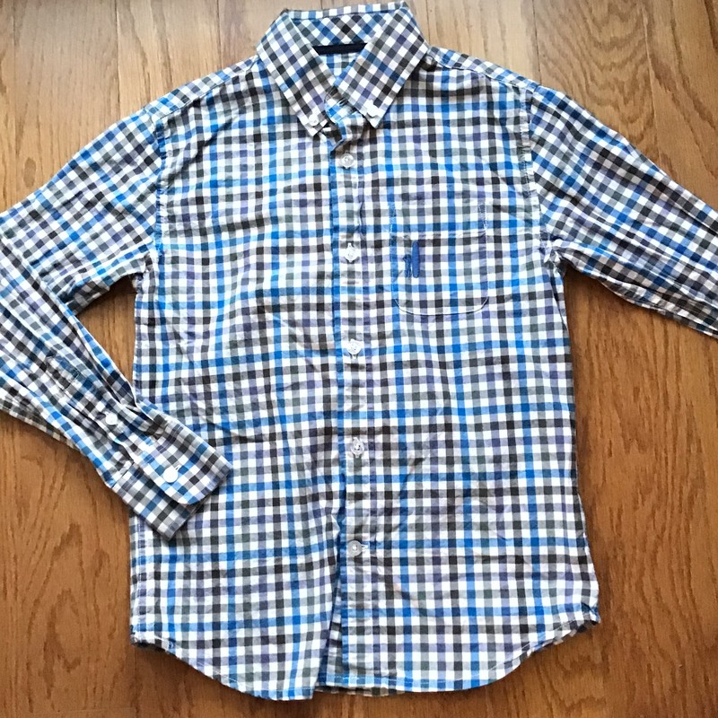 Johnnie O Shirt, Gray, Size: 6<br /> <br /> <br /> ALL ONLINE SALES ARE FINAL. NO RETURNS OR EXCHANGES.