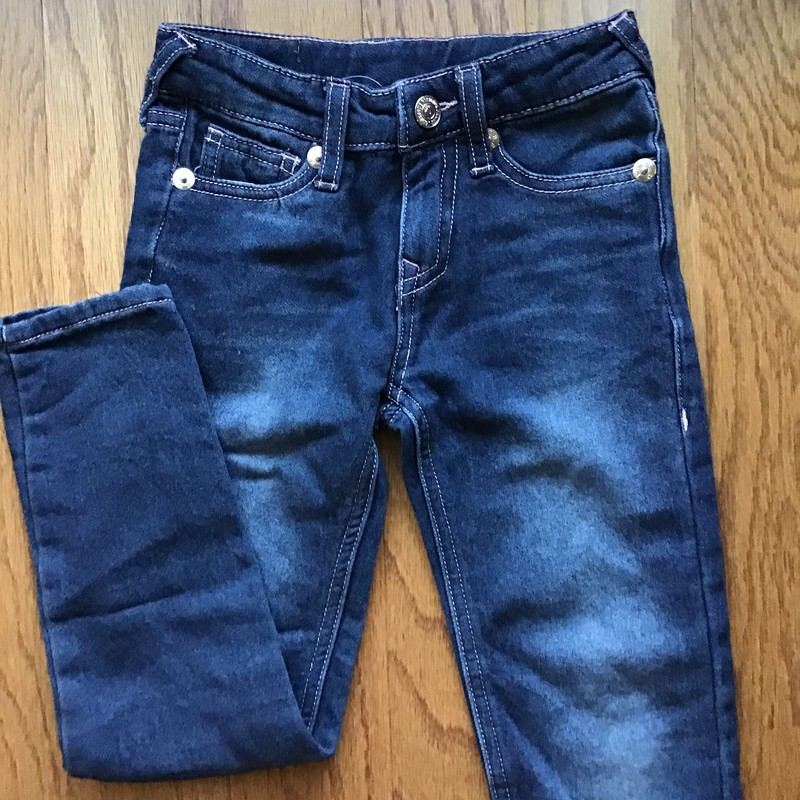 True Religion Pant, Denim, Size: 6<br /> <br /> <br /> ALL ONLINE SALES ARE FINAL. NO RETURNS OR EXCHANGES.