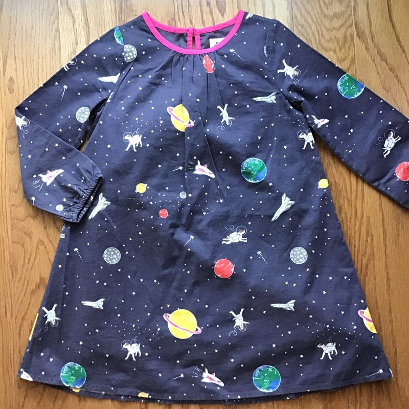 Mini Boden Space Dress, Multi, Size: 4-5<br /> <br /> <br /> ALL ONLINE SALES ARE FINAL. NO RETURNS OR EXCHANGES.