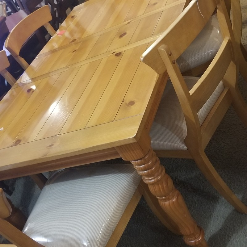 DINING TABLE W/ HUTCH, None, Size: None