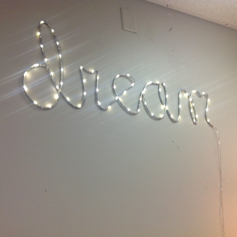 Dream Lite Up Sign, None, Size: 36x16